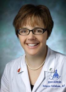 Dr. Rebecca Aslakson, Associate Professor, Adult Critical Care Medicine, Surgical Intensive Care Unit