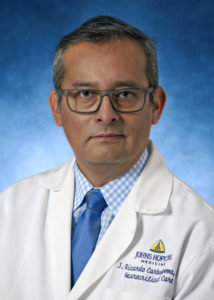 Juan Carhuapoma, MD, FAHA, Chief, Division of Neurosciences Critical Care; Associate Professor