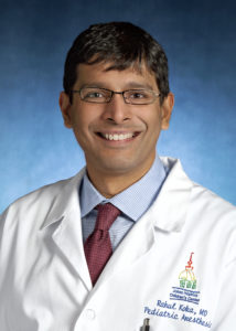 Rahul Koka, MD, Assistant Professor, Pediatric Anesthesia; Medical Director, Pediatric Pre and Post Anesthesia Care Unit, Bloomberg Children