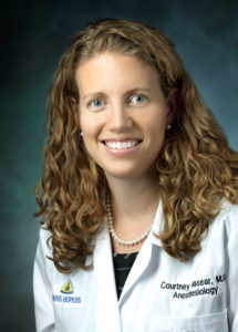 Courtney Masear, MD, Assistant Professor, Division of Obstetric, Gynecologic and Fetal Anesthesiology