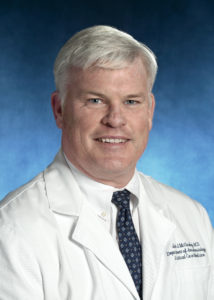 John McCloskey, MD, Chief, Associate Professor, Pediatric Anesthesia; and Critical Care Medicine