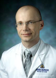 Dr. Aliaksei Pustavoitau, Assistant Professor, Adult Critical Care Medicine
