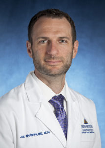 Dr. Jed Wolpaw, Assistant Professor, Adult Anesthesiology