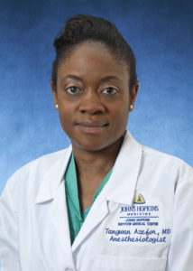 Tangwan Azefor, MD, Instructor, Bayview Medical Center