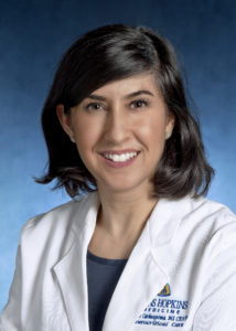 Lourdes Carhuapoma, MSN, Acute Care Nurse Practitioner, Division of Neurosciences Critical Care