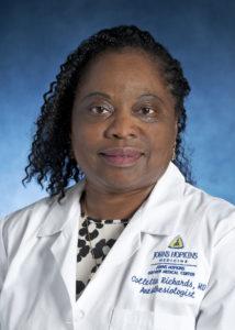 Colletta Richards-Claggett, MD, Associate Professor, Bayview Medical Center