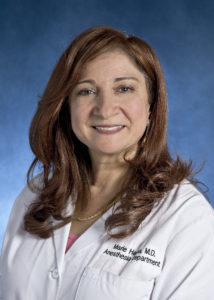 Marie N. Hanna, MBBCh, MD, Associate Professor; Chief, Regional Anesthesia and Acute Pain Medicine