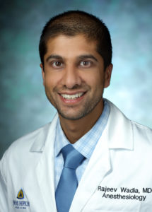 Rajeev Wadia, MD, Assistant Professor, Pediatric Anesthesiology