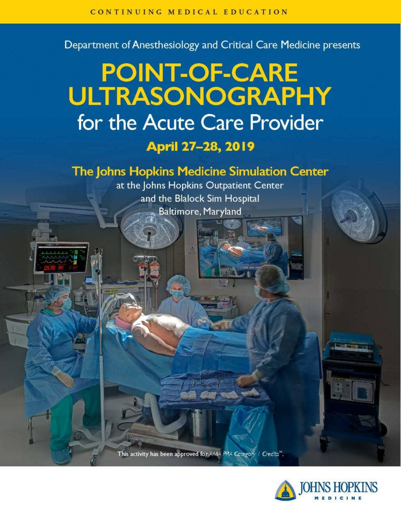 Events – Johns Hopkins Anesthesiology & Critical Care Medicine
